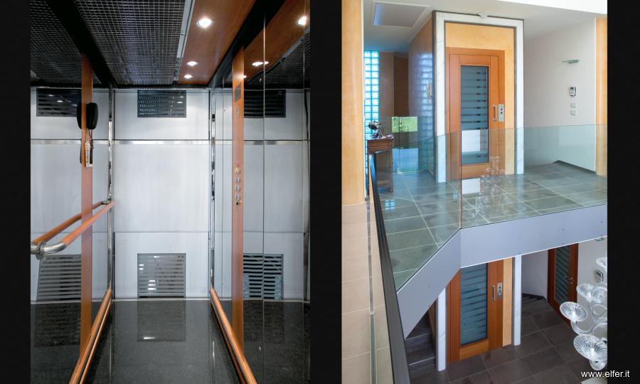 Miniascensori Domestici Per Interni: Dabitron ascensori panoramici esterni ed interni.