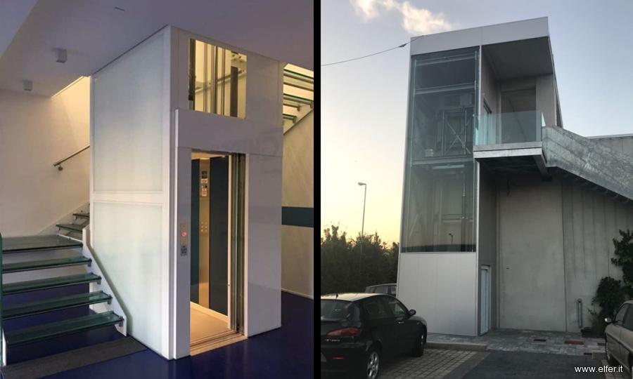 Costo ascensore esterno 2 piani ascensori standard e non for Costo per disegnare piani di casa