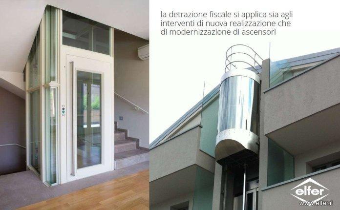 Detrazioni agevolazioni incentivi per ascensori 2012 - Costo ascensore esterno 3 piani ...