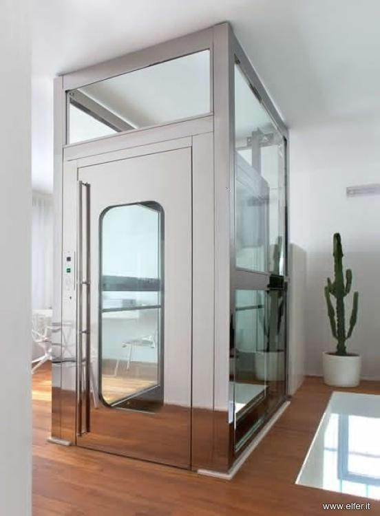 Elfer azienda specializzata in ascensori e montacarichi for Ascensore in casa