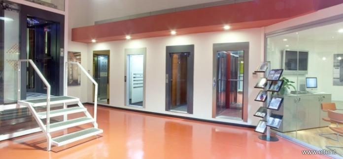 showroom ascensori Elfer