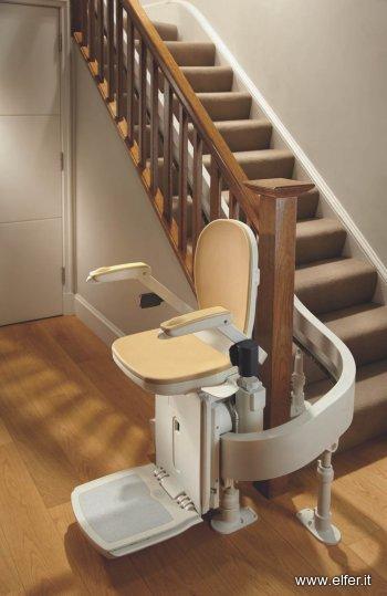 Poltroncina servoscala elfer for Sillas de escaleras para minusvalidos