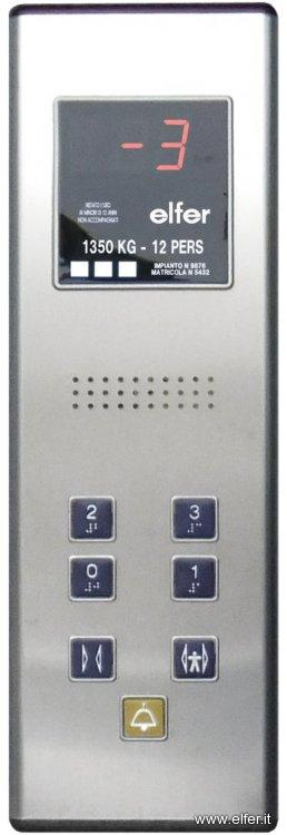 Pulsantiere di ascensori e interaction - ELFER